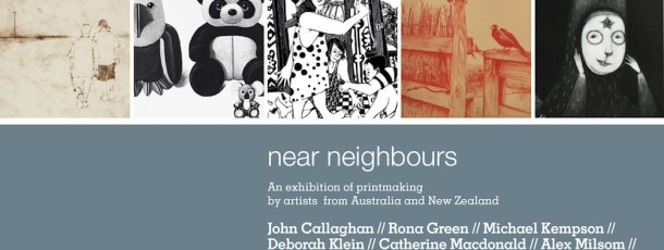 Near Neighbours @ St Heliers street Gallery Abbotsford Convent, Melbourne 4 – 28 September 2014
