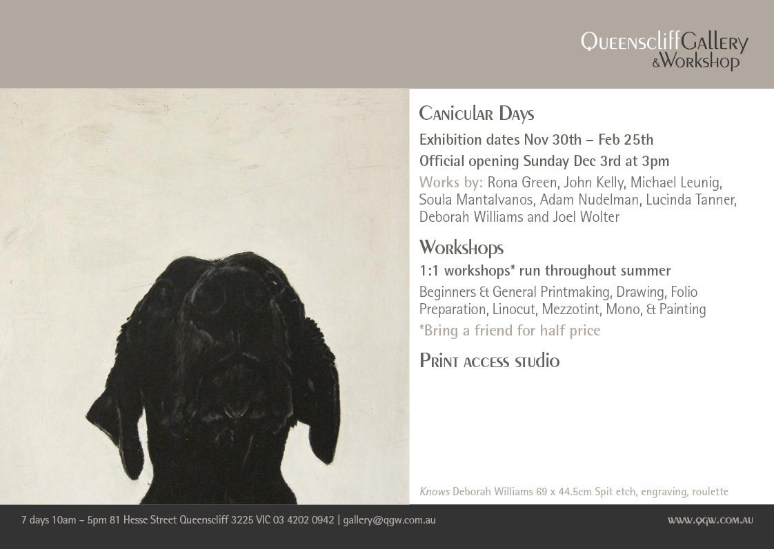 QG&W Canicular Days Exhibition Deborah